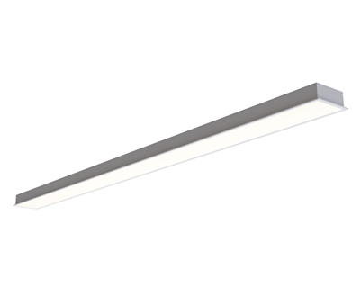 3 Inch Wide Recessed Linear LED Lighting built to your specs any size from 72 to 96 inches for a Sleek and Modern Linear Lighting Look. UL Listed and manufactured in Miami