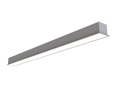 4ft 3 Inch Wide Recess Mount Linear LED Light for General Office Lighting