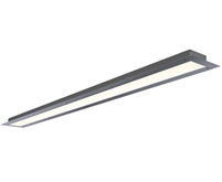 GlowbackLED 3 Inch Wide Trim-Less Recessed Linear LED Lighting built to your specs any size from 12 to 24 inches for a high end tailored look. UL Listed and manufactured in Miami. Plaster bead for smooth, trim-less finish.
