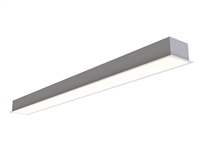 2ft 4 Inch Wide Recessed High Output LED Light Fixture with 120-277 or 347VAC Input