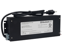 24V 288W 3x96W Multi Tap Power Supply/Driver for LED Light Fixtures and Panels