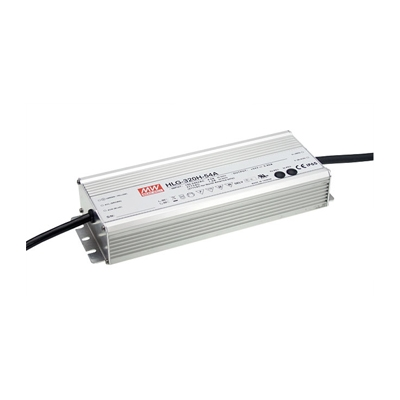 12V 40W LED Power Supply for LED Strip Lighting, Outdoor LED Strips, RGB and RGBW LED Strips, and more.  Mean Well HLG Series LED Driver for up to 40W linear LED lighting.