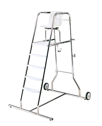 Portable 72 Inch Stainless Steel Lifeguard Chair