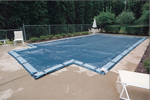 Gli aquacover solid winter pool cover for inground pools for Best type of inground pool