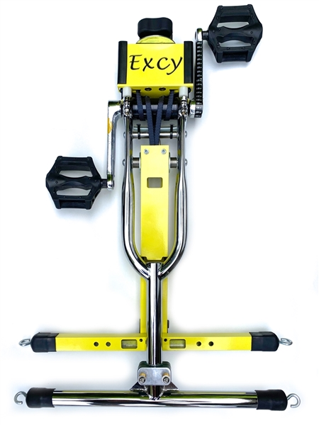 New! Excy XCS Bed Bike (smaller for hospital beds and therapy tables)