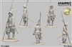 Pikeman, 1630 75mm, resin figure,