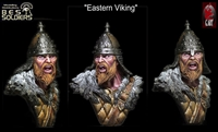 Eastern Viking, 1/10 scale resin bust