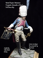 Trumpeter, Grenadier a Cheval, Full Dress, 1805, 120mm Resin Figure