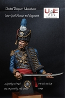 New York Hussars, 3rd Regiment, 1/10 Scale Resin Bust