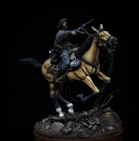 Quantrill's Raiders, 1863. Scratchbuilt/Conversion in 54mm by James Rice