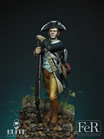 Private, 1st New York Regiment of Continental Line, 75mm