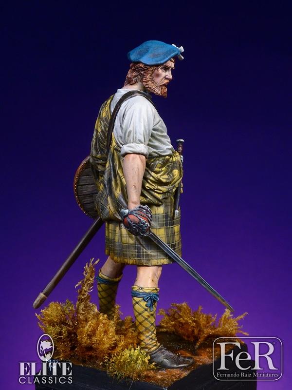 Highland Clansman Veteran, 75mm