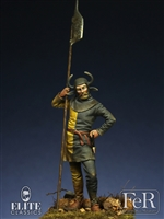 Swiss Halberdier, 15th Century, 54mm