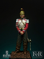 French Trumpeter Dragoon of the Guard, 1870, 75mm
