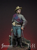 Confederate Artillery Officer, Gettysburg, 1863, 75mm
