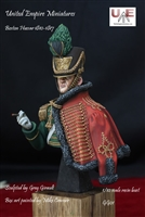 Boston Hussar, 1810-1817, 1/10 Scale Resin Bust