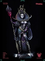 Oscura, Queen of Spades, 75mm Resin Full Figure Kit