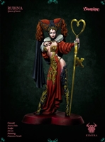 Rubina, Queen of Hearts, 75mm Resin Full Figure Kit