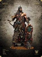 Krom, The Lone Warrior, 75mm Resin Full Figure Kit