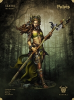 Liath, The Druidess, 75mm Resin Full Figure Kit