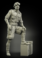 PanzerArt PA35-024 British RAC officer North Africa No.1, resin, 1/35