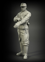 PanzerArt Waffen-SS tank officer winter  wear  No.2, resin, 1/35