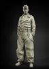 PA35-055 German tanker winter trousers No. 2, resin, 1/35