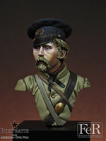9th Kentucky Infantry, Logan's Grays, Shiloh 1862, 1/16 scale bust. Resin