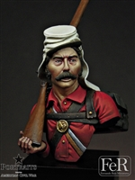 1st Minnesota, the Lincoln Guards First Mannassas, 1861, 1/16 scale bust. Resin