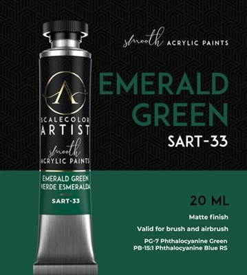 Scale Artist Emerald Green