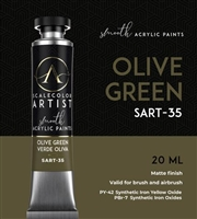 Scale Artist Olive Green