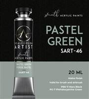 Scale Artist Pastel Green