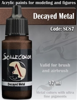 Scale Color SC-87 Decayed Metal 17ml bottle