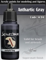 Scale Color SC-04 Anthartic Grey 17ml bottle. Acrylic Paint.