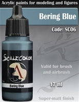 Scale Color SC-06 Bering Blue 17ml bottle. Acrylic Paint.
