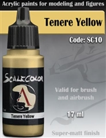 Scale Color SC-10 Tenere Yellow 17ml bottle. Acrylic Paint.
