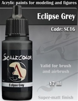Scale Color SC-16 Eclipse Grey 17ml bottle. Acrylic Paint.
