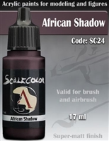 Scale Color SC-24 African Shadow 17ml bottle. Acrylic Paint.