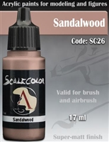 Scale Color SC-26 Sandalwood 17ml bottle. Acrylic Paint.