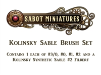 SABOT Miniatures Brush Set