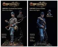 SMFACW01 Union and Confederate Soldier Set