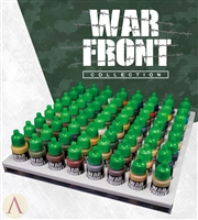 Scale 75 Warfront Acrylic Paint Complete Set, 64 bottles plus a metal storage tray