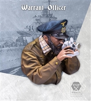 WARRANT OFFICER, U-Boat, 1/10 Scale Resin Bust