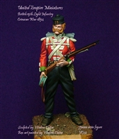 British 19th Light Infantry, Crimean War, 1854, 75mm Resin Figure