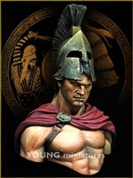 SPARTA Battle of Thermopylae 480 B.C., 1/10 Scale Resin Bust