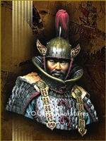 Goguryeo Heavy Cavalry Officer 5th Century AD, 1/10 Scale Resin Bust