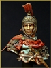 YH1829 - Roman Cavalry Officer 180 B.C., 1/9 scale bust
