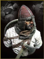 Norman Knight Hastings 1066, 1/9 scale bust