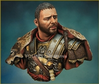 Roman General, 1st Century AD, 1/10 Scale Resin Bust
