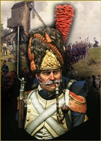 YH1847 - French Grenadiers of the Imperial Guard, 1/9 scale bust
